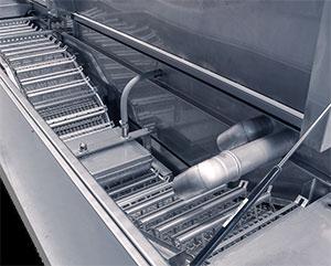 Masini de spalat industriale cu banda si personalizate