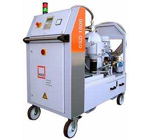 Filtrarea uleiurilor uzate si sedimente prin centrifugare
