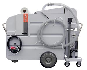 Sistem mobil aspirare, filtrare, separare emulsii, uleiuri CNC
