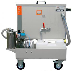 Sistem mobil filtrare ulei rezidual prelucrari mecanica CNC