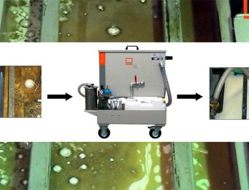 Cum separi uleiul rezidual din emulsia masinilor CNC
