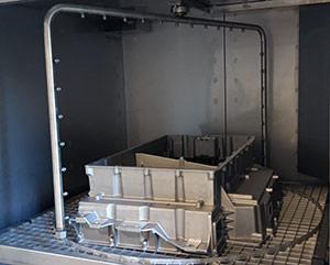 Masina de spalat piese de vaselina, ulei, praf prin pulverizare