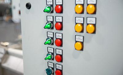 Panou comanda sistem centralizat filtrare ape uzate