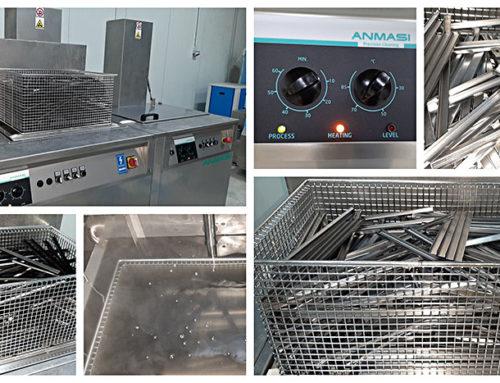 Servicii spalare profile metalice de ulei ambutisare si particule