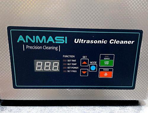 Baie de curatare cu ultrasunete, 4 litri, digitala pentru piese mici ANMASI CLD100 Danemarca