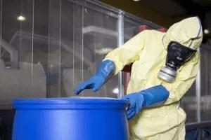 Eliminarea solutiei de decapare neutralizate