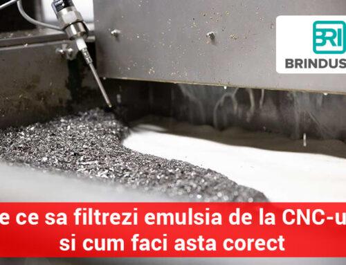 25 de motive: De ce sa investesti intr-un sistem centralizat de filtrare a lichidelor de proces (emulsie)